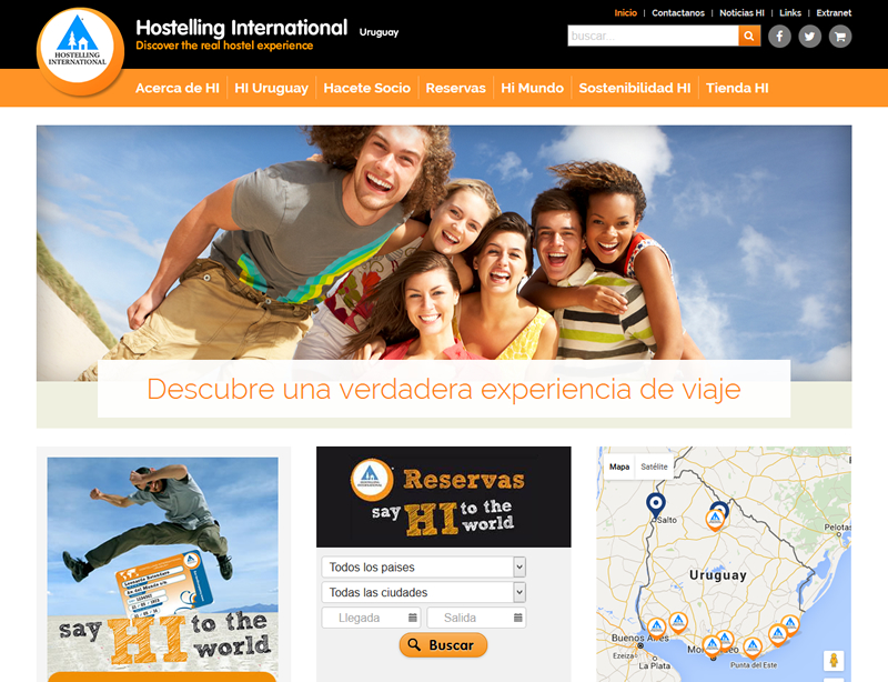 Hostelling International Uruguay
